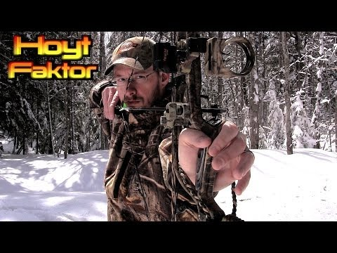 Shooting the 2014 HOYT FAKTOR 30