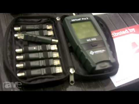 InfoComm 2013: Greenlee Communications Discusses The NC-500