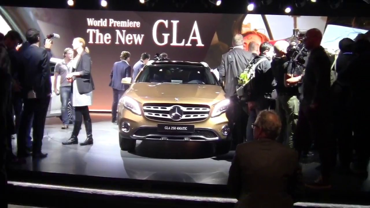 2018 Mercedes-Benz GLA compact SUV debuts in Detroit