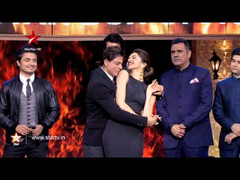 A fiery chemistry between Shah Rukh Khan and Deepika Padukone!
