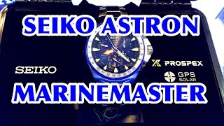 SEIKO ASTRON GPS SOLAR MARINEMASTER limited-edition!