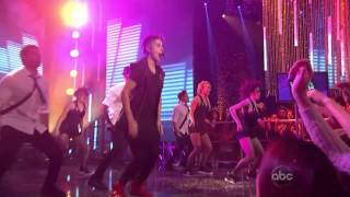 "Justin Bieber ""Beauty And A Beat"" Live From Hollywood - New Year's 2013(HD)"