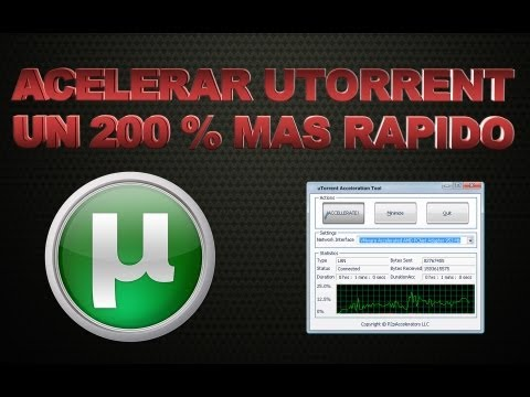 Como Acelerar uTorrent Al Maximo 2013 Music Videos