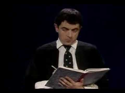 Rowan Atkinson - no one called Jones Video