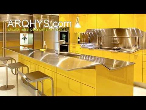 El color ideal para la cocina videos68 com for Cocina ideal