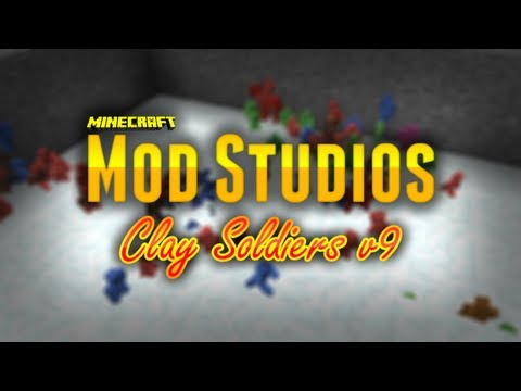 Minecraft Mod Studios - Clay Soldiers Mod v9.1.1