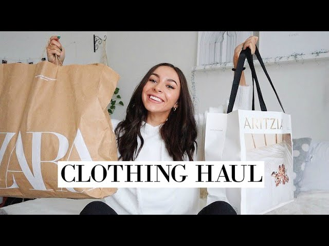 NEW YEAR NEW CLOTHES  Try On Clothing Haul 2020