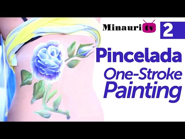 DIY - Pincelada / One stroke painting by Miguel Rincón (2/3)