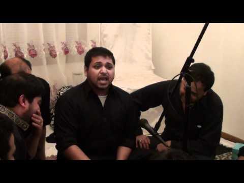 Aun Naqvi - Marsiya: Qaid khane mein talatum hai ke Hind aati...