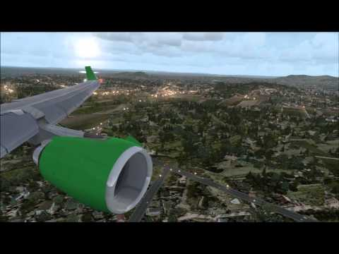 PMDG 737NGX - Boeing field Drop off challenge - MD11 FSX