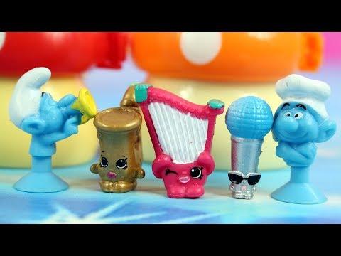 Shopkins & Stikeez Smerfy   Muzyczny skarb   Bajki dla dzieci