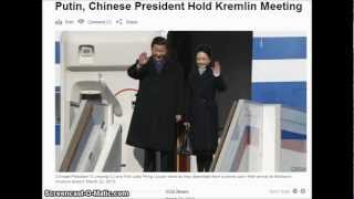 Putin, Chinese President Hold Kremlin Meeting.
