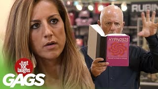Hypnosis Gone Wrong - Just For Laughs Gags