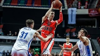 Highlights Lokomotiv Kuban vs Zenit 28.02.2017 Eurocup 7DAYS