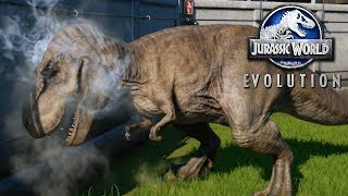 The Great Rexy Break Out! - Jurassic World Evolution FULL PLAYTHROUGH | Ep43 HD