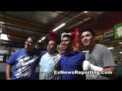 mikey garcia on juanma Lopez buying his car - EsNews Boxing