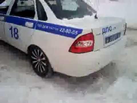 ИДПС: Бегство полицаев.