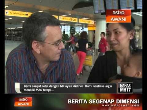 Nahas MH17: Penumpang bernasib baik terkejut