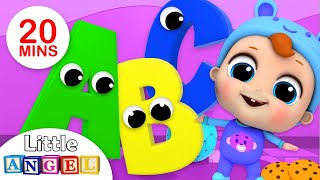 ABC Song | Alphabet & Phonics Song for Kids Learning | Kids Songs by Little Angel