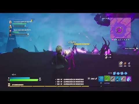 Matando a el rey de la tormenta en directo/Fortnite/Facu Vera