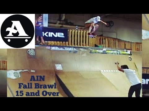All I Need Skateboards FALL BRAWL 15 and Over Division