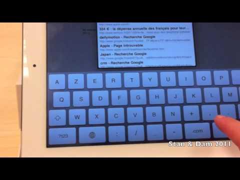 iPad 2 - Déballage et test (en français)