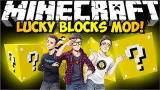 MINECRAFT LUCKY BLOCKS - IL TRIO E LA TROKA