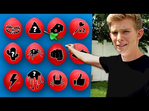 DONT Pop the Wrong Mystery BALLOON!! (EXTREME CARNIVAL GAME)
