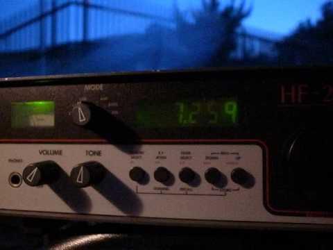2016 05 28 1900UTC 7260kHz Radio Vanuatu ID 正時 HF 225+AF 606K R0041462