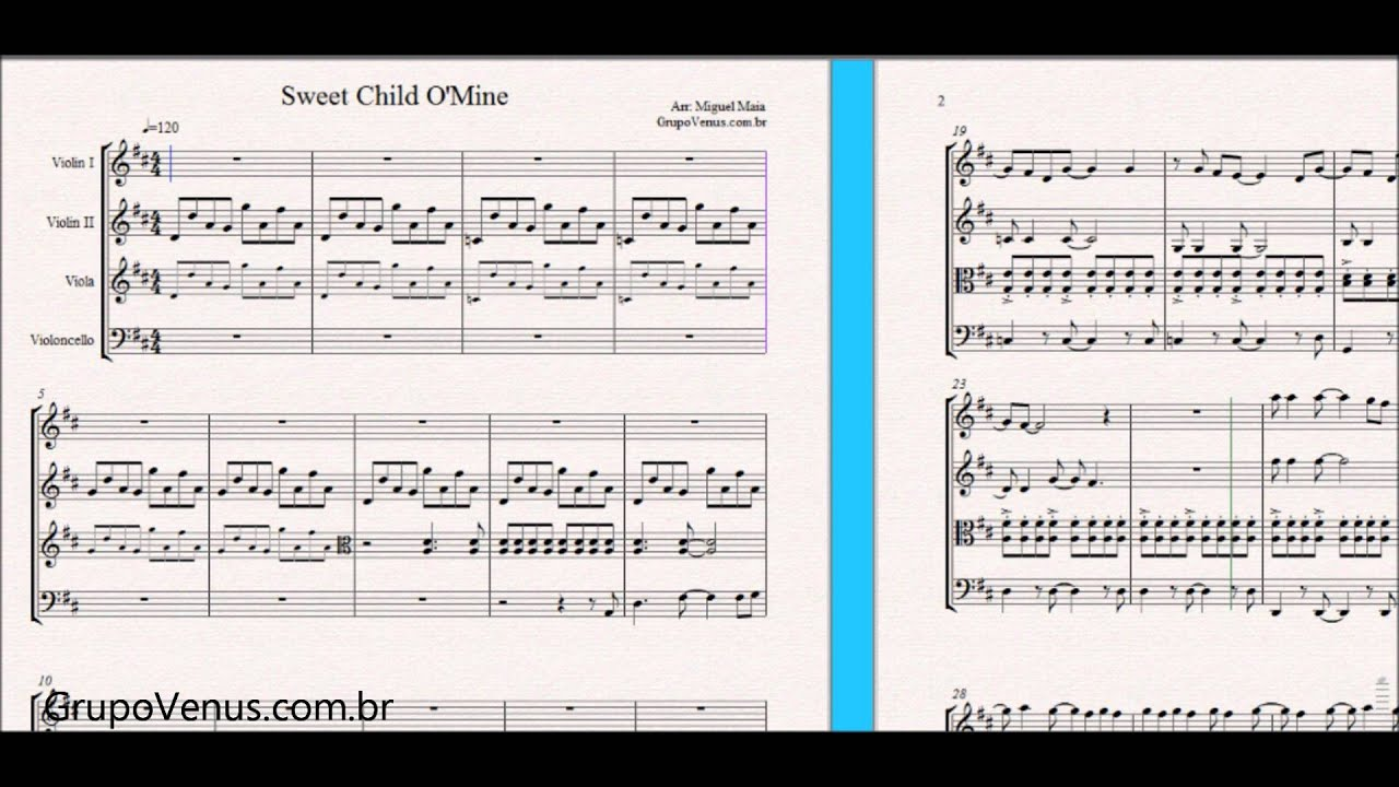 Violin Sheet Music Wallpaper Quartet Piano Chords