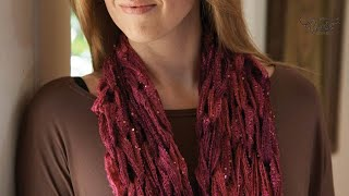 Learn To Arm Knit Using Sashay