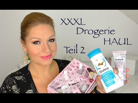 Xxxl Drogerie Haul Juli 2014 Teil 2  Deutsch Hd By Mamaco video