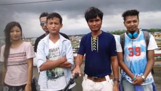 Nepal to Bodoland : Bodo film # Makeup man Mausam is delivering a speech about the  shooting.
