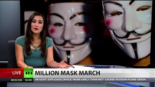 Third annual Million Mask March global protest attacks corruption, injustice