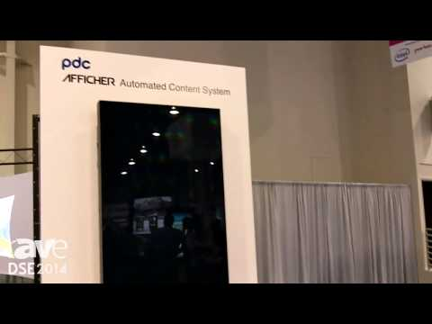 DSE 2014: PCD Shows Afficher 6k Multi-Screen System