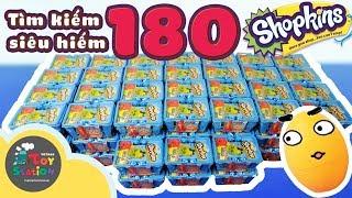 Shopkins - Mở 180 Shopkins season 1, săn nhân vật siêu hiếm Ultra Rare - ToyStation 82