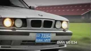 BMW M5 E34 Street Drift