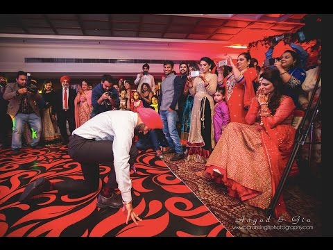 Best Punjabi Groom Dance Performance For The Bride 2016