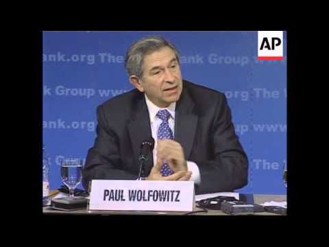 Wolfowitz reports progress on debt relief agreement