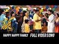 Happy Happy Family Full Video Song Tej I Love You Songs Sai Dharam Tej Anupama Parameswaran mp3