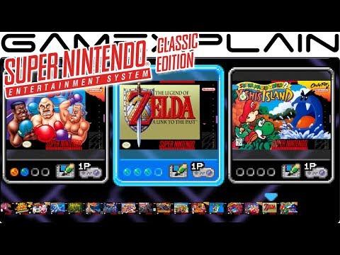 Super NES Classic Edition - Menu Tour + Music (Theme Song)