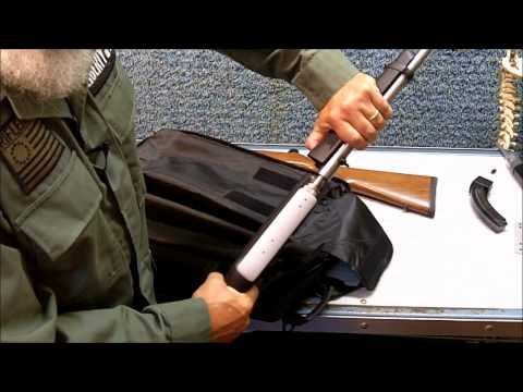 Ruger 10/22 Takedown Rifle Review and Sling Installation