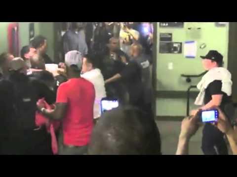 Ray J beats up Bad Azz - Full Fight At West Coast Fest