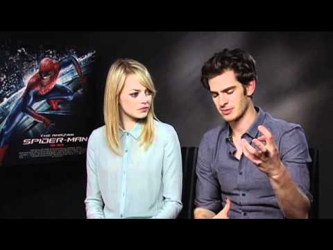 Andrew Garfield and Emma Stone Interview on The Amazing Spider-Man - Glamour UK
