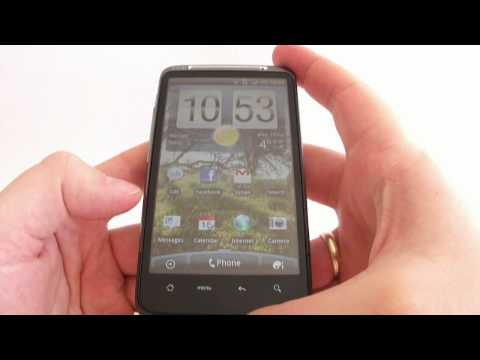 HTC Desire HD - hands on - PART 1/2