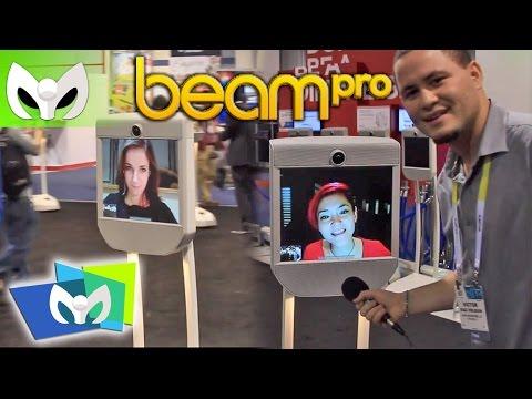 Interactua en Tiempo Real con BeamPro y Beam +? #CES2015