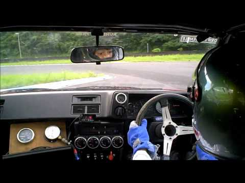JDM AE86 4AG FSW Short course on board 2011.8.26 drift