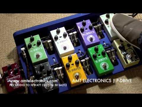 AMT Electronics: DRIVE SERIES (Rhythm stuff with PRS Studio & HIWATT SA212)