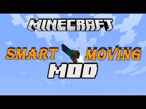 Minecraft Mods 1.7.10   Smart moving Mod   Como instalar (review)