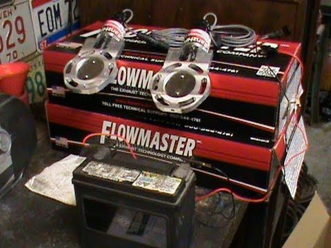 Electric Exhaust Cutouts and Flowmasters